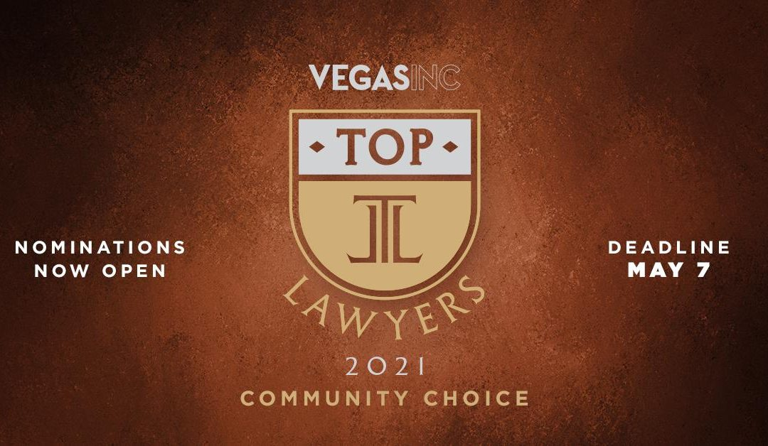 2021 Top Lawyers Nominations Happening Now